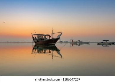 Beautiful Sunrise in seaside Dammam -Saudi Arabia