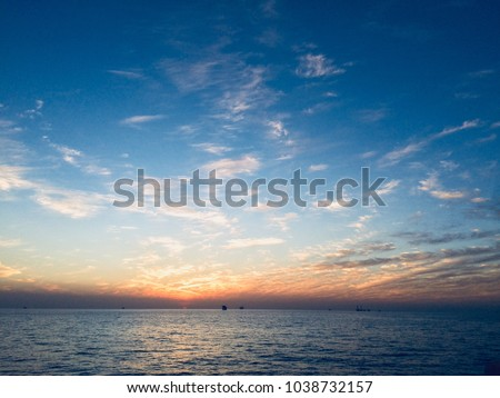 Beautiful Sunrise Sunset Hd Wallpaper Mobile Stock Photo Edit Now