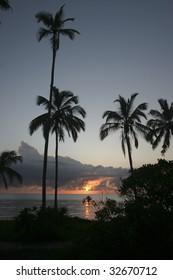 Beautiful Sunrise in Tanzania Africa