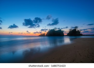 Beautiful Sunrise view of Pantai Kemasik, Terengganu