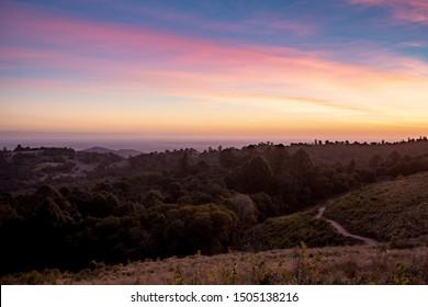 Beautiful Sunset, Bunya Mountains Lookout