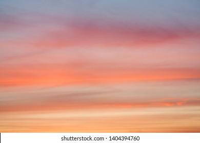 beautiful sunset closeup, dramatic heaven, natural background