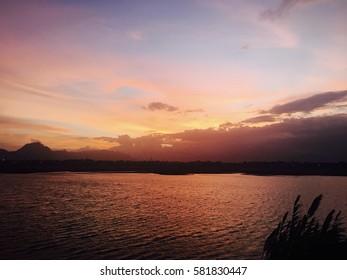 A beautiful sunset from Coimbatore