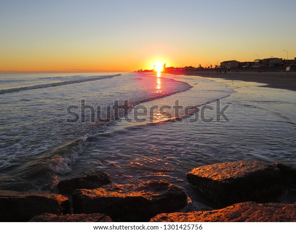 beautiful-sunset-galveston-texas-waves-6