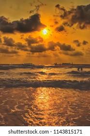 Beautiful Sunset in Gokarna