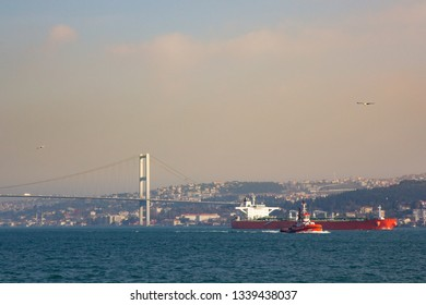 Beautiful sunset from Istanbul, Turkey.