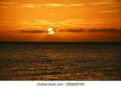 So beautiful sunset in Maluku.