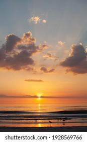 Beautiful sunset on the Golf coast.