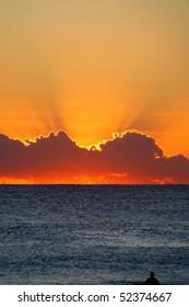 Beautiful Sunset in Perth, Australia