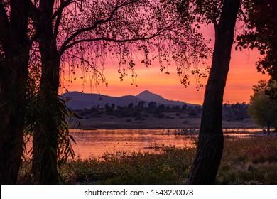 Beautiful Sunset In Prescott Arizona