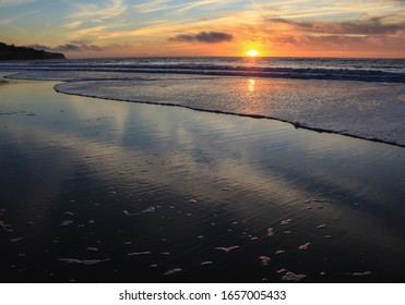 Beautiful Sunset, Torrance Beach, South Bay of Los Angeles County, California