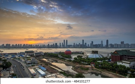Beautiful sunsets in Nanchang