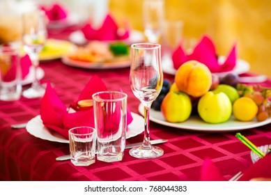 A beautiful table setting.