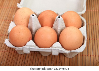 beautiful and tasty eggs