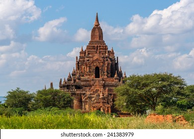 The beautiful Tayok Pye Temple, part of the Minnanthu group, in famous Bagan in Myanmar