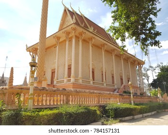 Beautiful temple in Kratie ,Cambodia