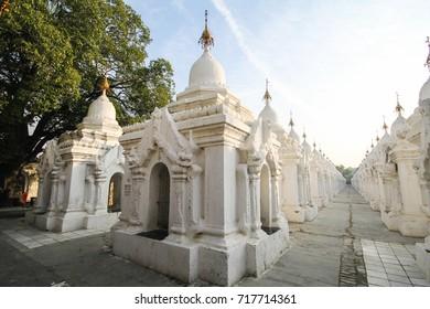 Beautiful temple at Mandalay, Myanmar
