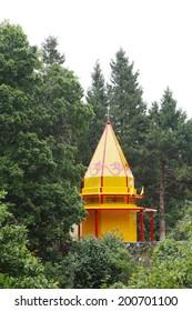 Beautiful temple near Nainital