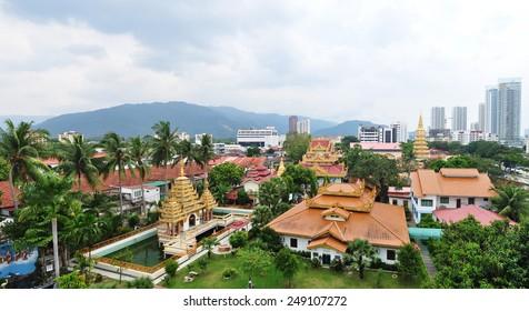 beautiful temple in Penang ,malaysia