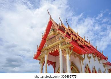 Beautiful Temple in Thai, Thailand