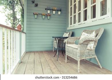 Imágenes Fotos De Stock Y Vectores Sobre Terraza De Verano