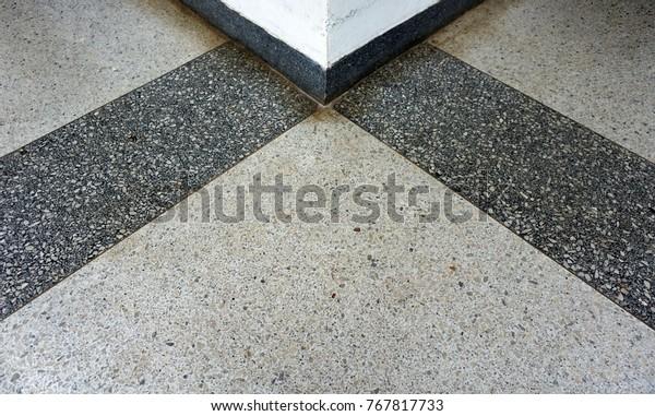 Beautiful Terrazzo Floor Texturesurface Background Stock