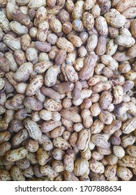 beautiful texture of peanut, top view. also known as the groundnut, goober, or monkey nut.