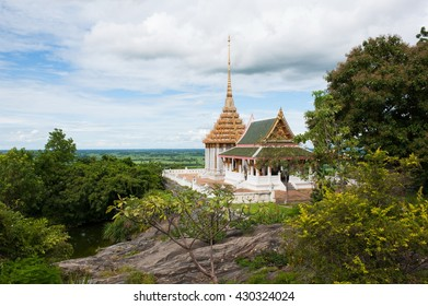 Beautiful Thai Temple in up country in Thailand.