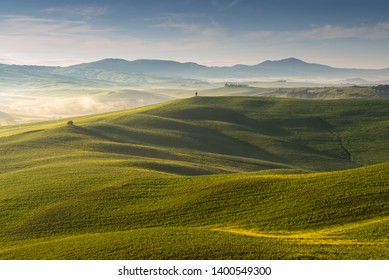 Beautiful Toscana Italy in spring