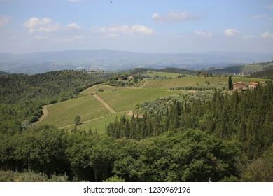 Beautiful Toscana landscape