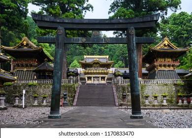 beautiful toshogu shrine of nikko, japan