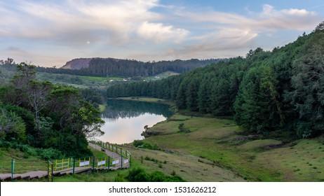 Beautiful tourist place Pykara Lake ooty