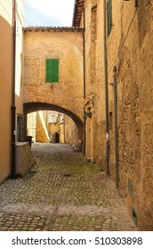 The beautiful town of Matelica in the Marche,italy