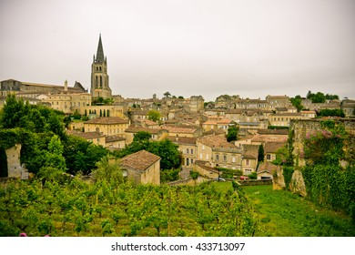 Beautiful town of Saint-Emilion, France