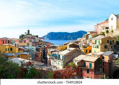 beautiful town of vernazza, italy