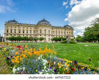 Beautiful towns of Germany - Wurzburg Residence