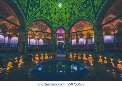 Beautiful traditional bath in Kashan - Iran