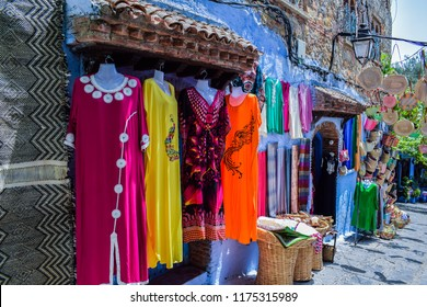 Beautiful Traditional Clothes of Morocco, Chefchaouen City