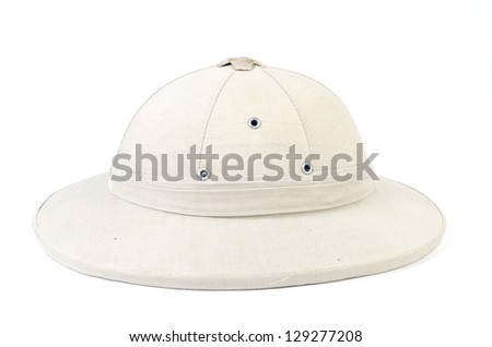 bbe68f0150a58 Beautiful Traditional Panama Hat Isolated On Stock Photo (Edit Now ...
