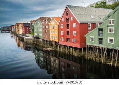 Beautiful Trondheim Norway