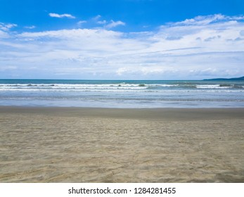 Beautiful tropical beach in Itapema SC Brazil