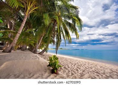 Beautiful tropical beach. Thailand