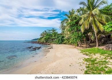 Beautiful tropical island beach - Koh Kood, Trat Thailand