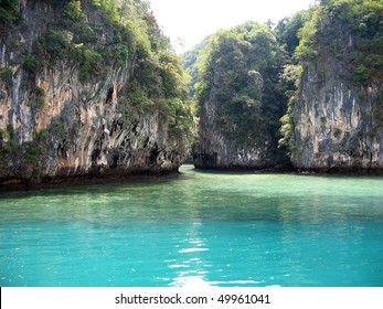 Beautiful tropical islands in exotic paradise at Thailand.