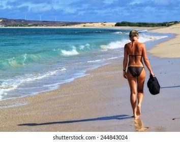 Beautiful tropical paradise island, Cape Verde