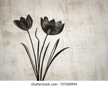 Line Drawing Flower Images : Love abstract drawing clipartxtras