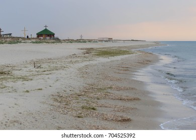 Beautiful turquoise sea and a wild beach