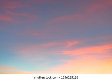 beautiful twilight sky background