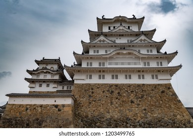 The Beautiful UNESCO world heritage Himeji Castle, Himeji, Japan