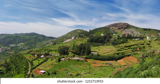 Beautiful valley of Ooty, also knows Queen of Hill Stations. India.